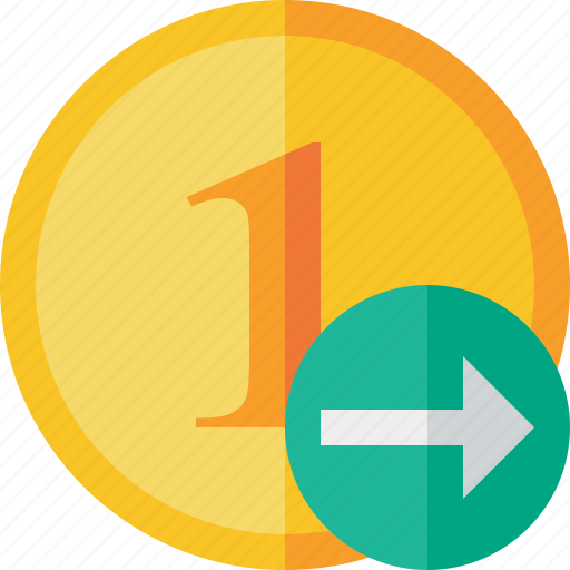 Cash, coin, currency, finance, money, next icon - Download on Iconfinder