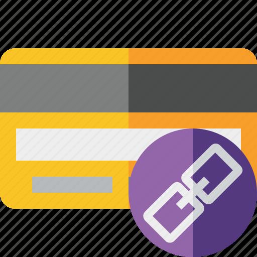 buy, card, credit, debit, link, money, payment icon
