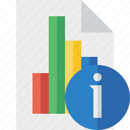bar, chart, document, file, graph, information, report icon