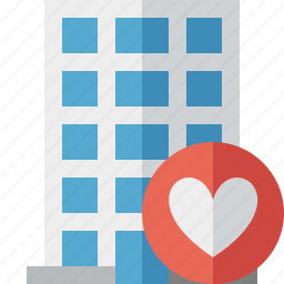building, business, company, estate, favorites, house, office icon