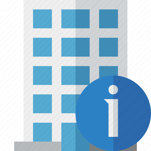 building, business, company, estate, house, information, office icon
