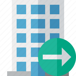building, business, company, estate, house, next, office icon