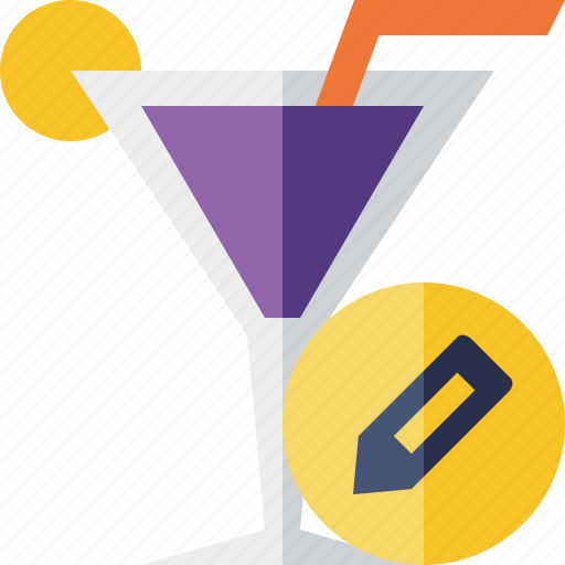 alcohol, beverage, cocktail, drink, edit, glass, vacation icon