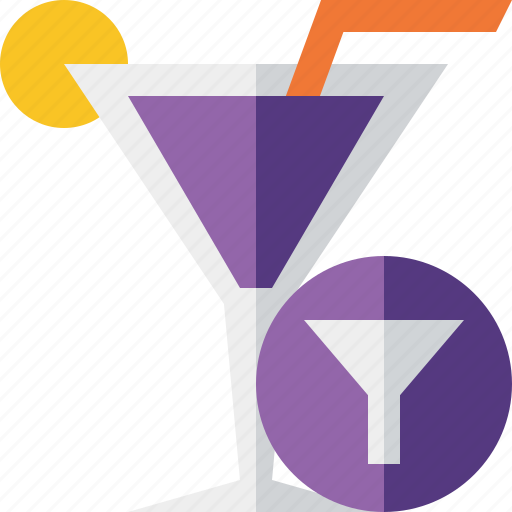 alcohol, beverage, cocktail, drink, filter, glass, vacation icon