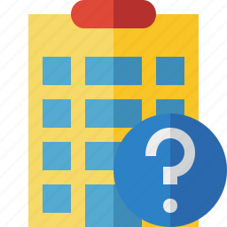 building, city, help, hotel, office, travel, vacation icon