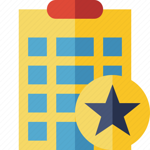 Building, city, hotel, office, star, travel, vacation icon - Download on Iconfinder