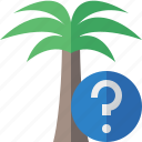 help, palmtree, travel, tree, tropical, vacation