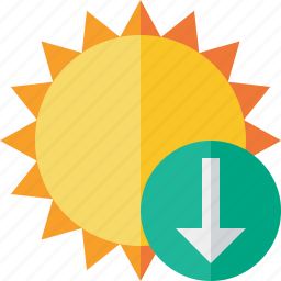 download, summer, sun, sunny, travel, vacation, weather icon