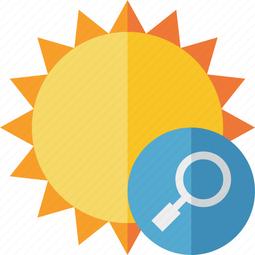 search, summer, sun, sunny, travel, vacation, weather icon