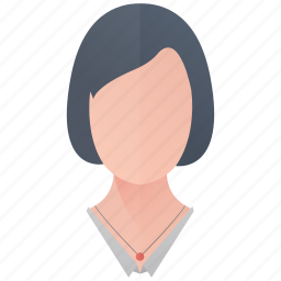 avatar, female, girl, person, profile, user, woman icon