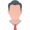 avatar, business, man, person, profile, user icon