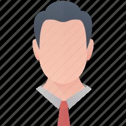 avatar, business, man, person, profile, user icon