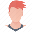 athlete, avatar, boy, man, person, profile, user icon