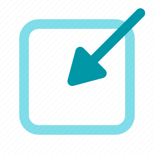 arrow, create, inbox, write icon