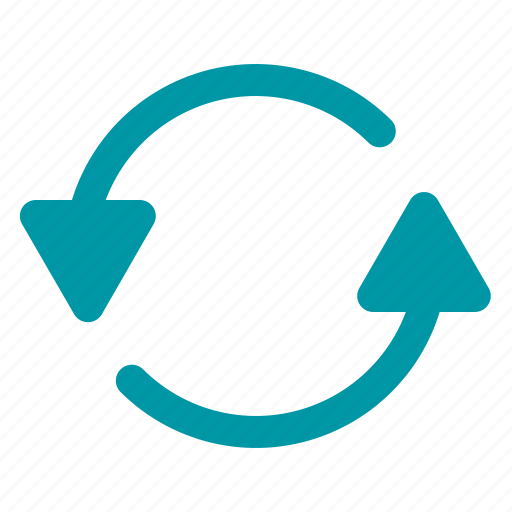 change, recycle, refresh, retry, transfer icon
