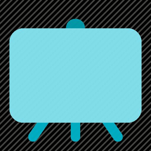 board, canvas, office, presentation icon
