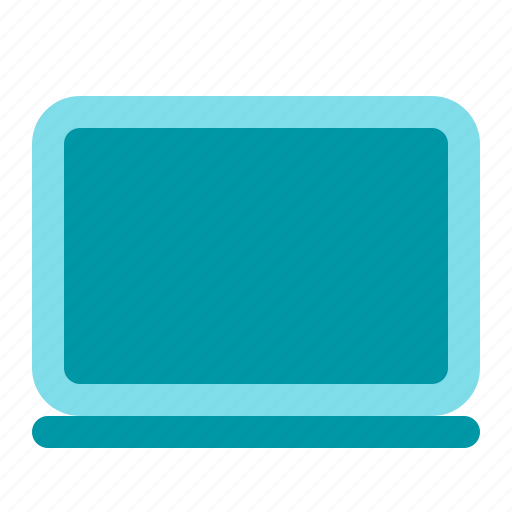 computer, laptop, notebook, office icon