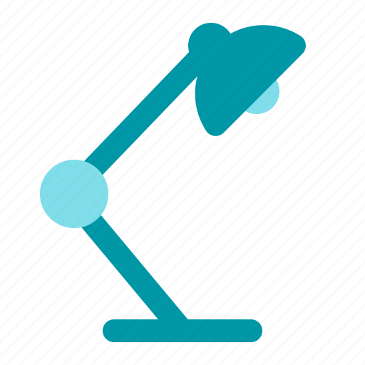 lamp, learn, office, study icon