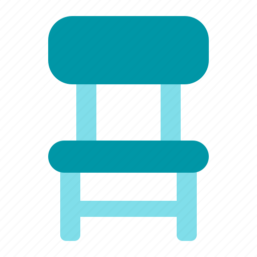 chair, office, sit, work icon