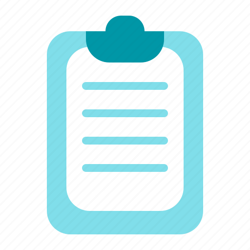 office, paper, report, schedule icon