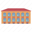 building, city, home, house, property, real estate, residential icon