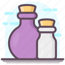 chemical bottle, magic potion, mixer, potion, potion bottle icon