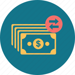 business, cash, money, out, payment, stack, tax icon