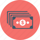 business, cash, money, payment, profit icon