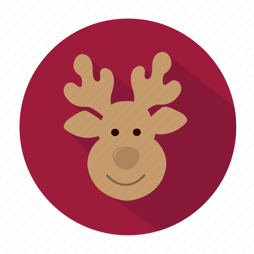 christmas, christmas decoration, decoration, holiday, reindeer, snow, winter, xmas icon