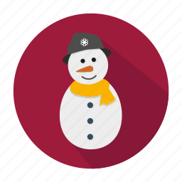 christmas, holiday, snow, snowman, winter, xmas icon