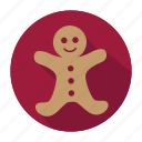 christmas, christmas cookie, cookie, ginger cookie, holiday, snow, winter, xmas icon