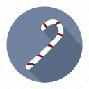 candy, candy cane, christmas, holiday, winter, xmas icon