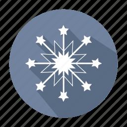christmas, christmas snowflake, decoration, holiday, snowflake, winter, xmas icon