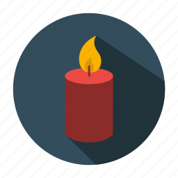 candle, christmas, christmas candle, decoration, holiday, snow, winter, xmas icon