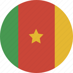 cameroon, circle icon