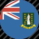 british, bvi, circle, circular, flag, islands, virgin