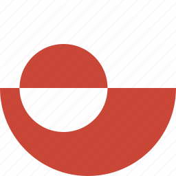 circle, greenland icon