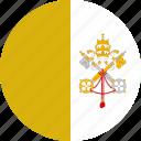 circle, vatican icon