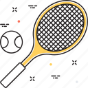badminton, racket, sports, squash, tennis icon