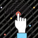 brainstorming, gesture, mind, planning, thinking icon