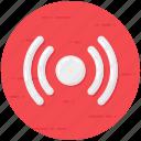 motion sensor, proximity sensor, sensor, sensor waves, wireless sensor icon