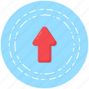 arrow symbol, arrow up, backup, data upload, upload icon