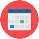 agenda, appointment, calendar, daybook, schedule, timetable, yearbook icon