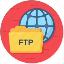 file transfer, ftp, ftp archive, ftp document, ftp folder icon