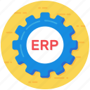 enterprise management, enterprise planning, erp, resource management, resource planning icon