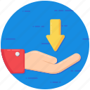 borrow, necessity, need, requirement, want icon