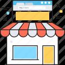 ecommerce, eshop, online shopping, shop, store icon