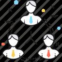 cooperation, organization, people, team, teamwork icon