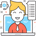 chat support, communication, customer support, live agent, live chat icon