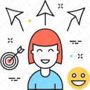 alternative, choice, customer, options, selection icon